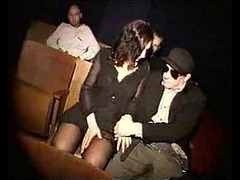 Chick Fucked in Theater, German Sex, Hooker Fuck, Perfect Body