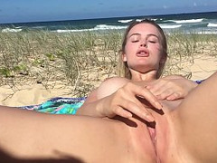 nudists, Blonde, Hot Wife, Masturbation Hd, outdoors, Milf Housewife, Perfect Body Anal