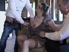 gang Bang, mature Porno, British Mature Gangbang, Teen Stockings