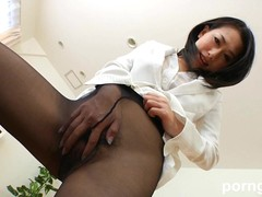 Young Lady, work, Pantyhose, Perfect Body Milf
