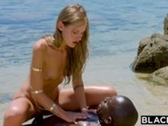 Beach, Ebony Girl, blondes, fuck Videos, Perfect Body Anal Fuck, Tourist