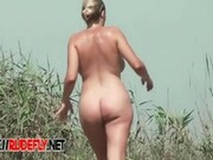 Beach, Caught, Exhibitionist Fuck, Nudist Party, Perfect Body Anal Fuck, Voyeur Amateur