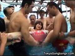 Perfect Body Anal Fuck, at Pool