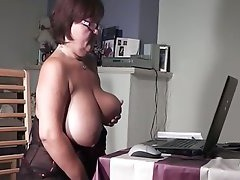 Sexy Granny Fuck, Glasses, gilf, Masturbating Together, mature Porno, Perfect Body Masturbation, Dick Rubbing Pussy, Watching, Girls Watching Lesbian Porn