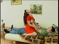 Wife Fantasy, Horny, Hot Mom and Son Sex, moms Sex, RolePlay, Seduced Sister