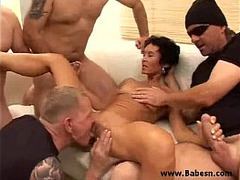 Gagged, Rough Facefuck, Amateur Sex Games, Gangbang, sex With Mature, Mature Group